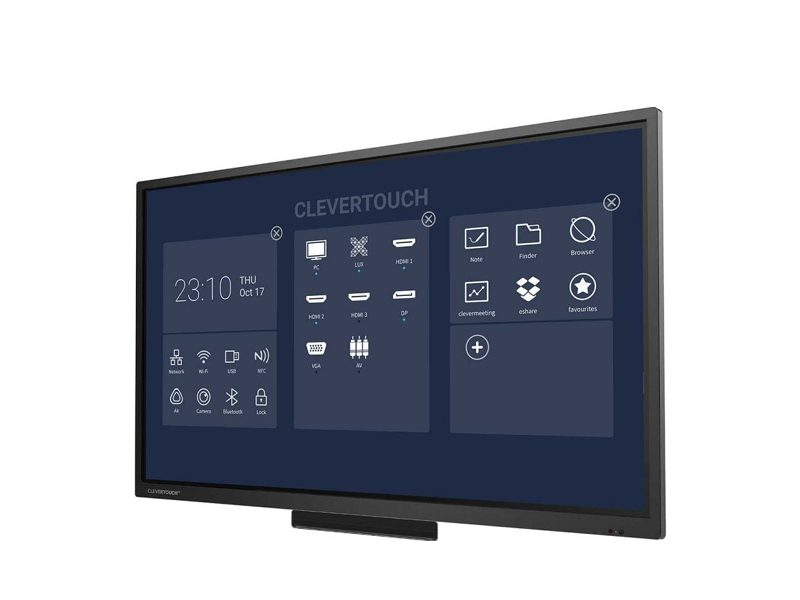 Clevertouch 65″ Pro Series E-CAP