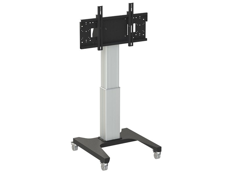 Loxit Hi-Lo Mono Electric 500mm Height Adjustable Trolley Mount (42-86″ 130kgs support)