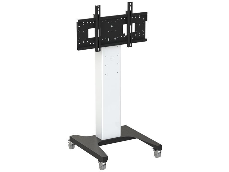 Loxit Hi-Lo Mono Multi-Position Trolley Mount (42-86″ 130kgs max weight with 6 pre-selected heights)