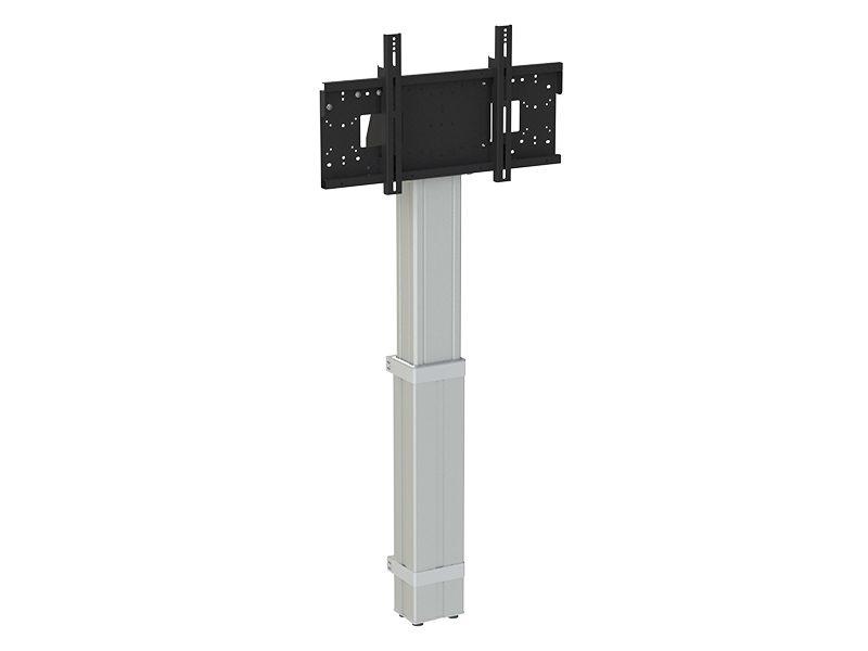 Loxit Hi-Lo Mono Electric Wall to Floor 600mm Height Adjustable Mount 42-86″