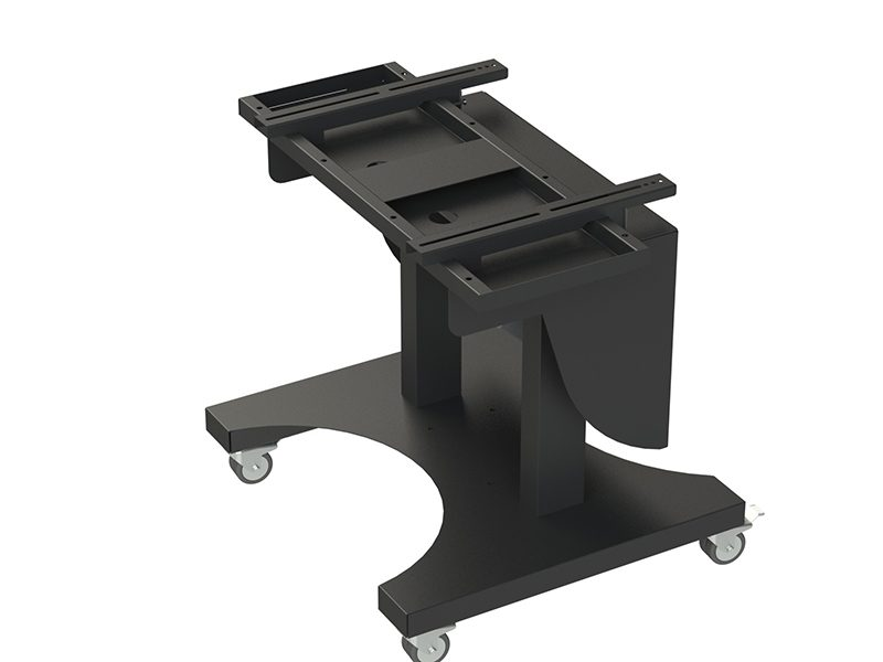 Loxit Hi-Lo Duo 680 Touchscreen Table Trolley (55-75″ Max Weight 100kgs)