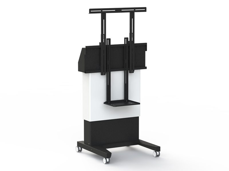 Loxit Hi-Lo 500 SmartConnect Video Conference Trolley (55-75″ Max Weight 100kgs)