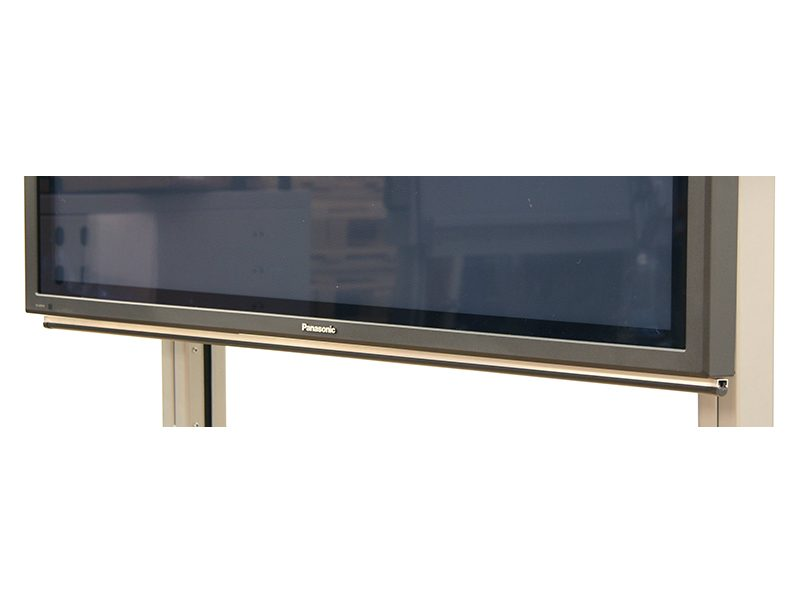 Loxit Hi-Lo Anti-Crush Bar for Flat Screen 1m