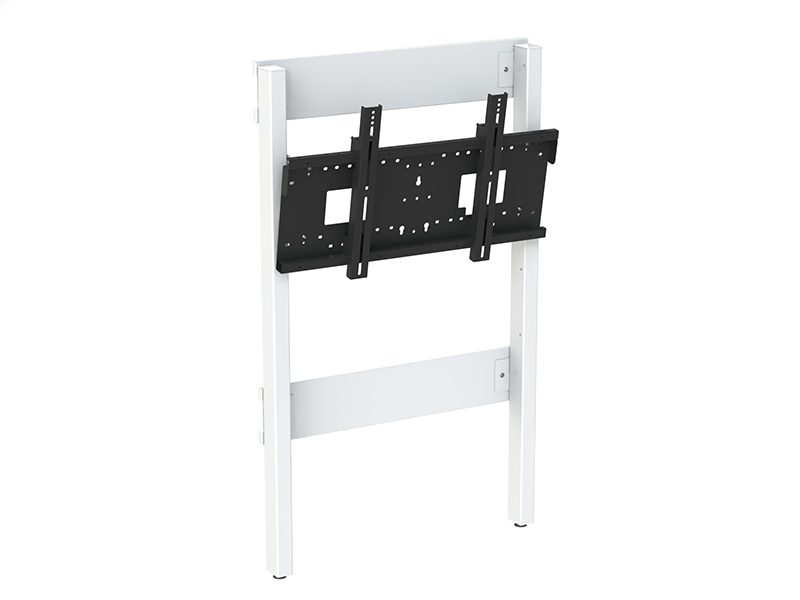 Loxit Fixed Height Wall to Floor Mount with Tilt (42-86″ Max 130kgs) Multi-Position